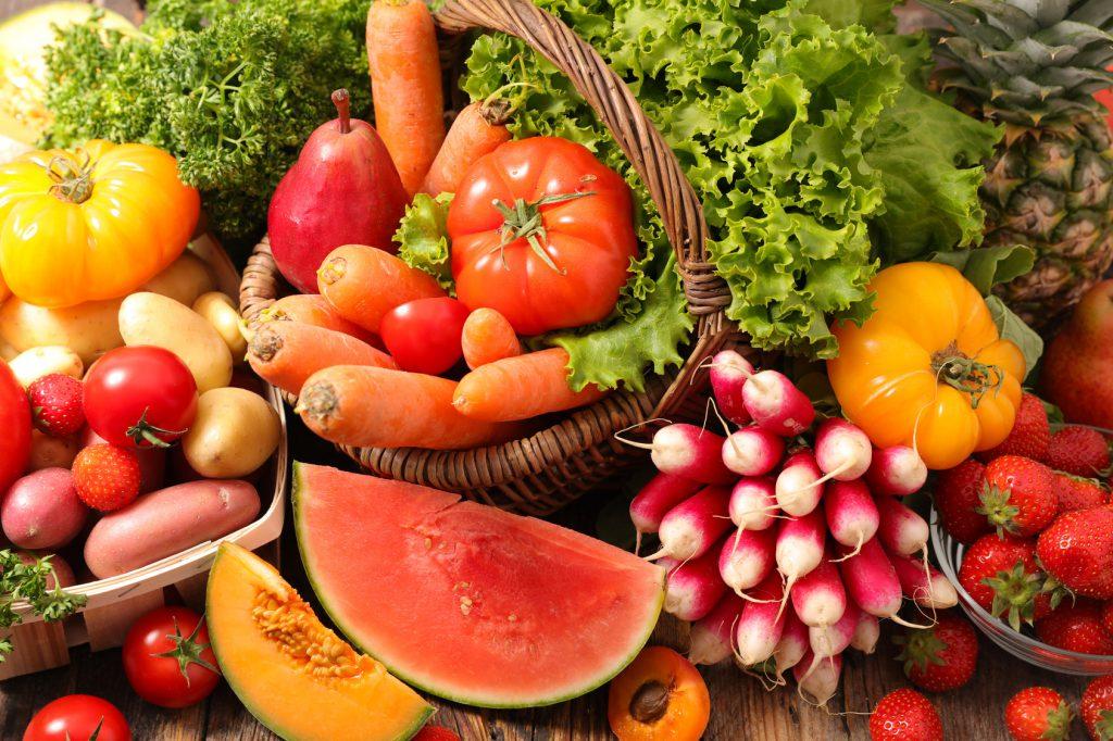 utrata-wagi-owoce-warzywa-odchudzanie