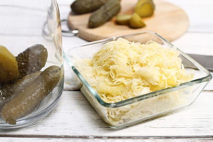 Kapusta kiszona jako naturalny probiotyk