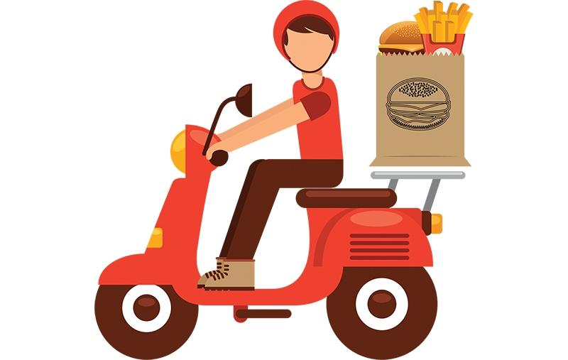 usługi dostaw żywności online