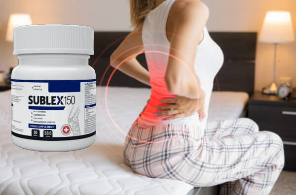 Gdzie kupić? - ile kosztuje Sublex-150? - kolana - ból stawów - lek