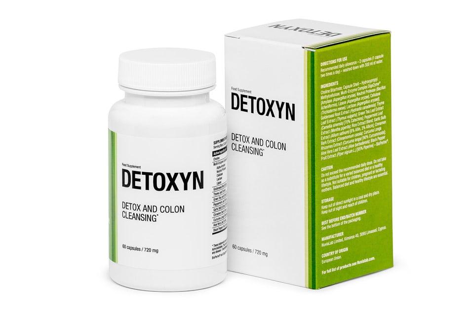 Detoxyn - opinie - skład - cena - gdzie kupić?